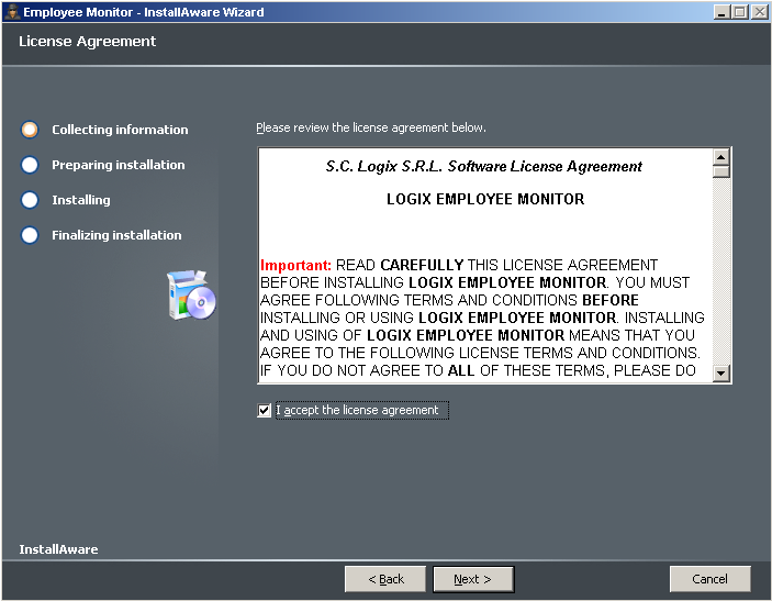 Screenshot 2 Logix Employee Monitor